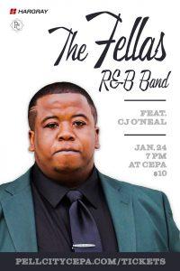 Local Sounds: The Fellas R&B feat. CJ O'Neal