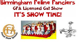 Birmingham Feline Fanciers CFA-Licensed Cat Show
