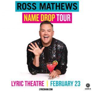 Ross Matthews Name Drop Book Tour