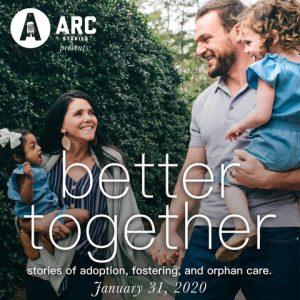 Arc Stories and Lifeline Children's present: Bet...