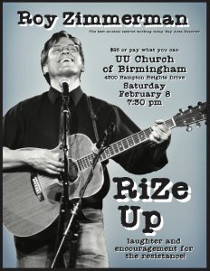 RiZe Up–Roy Zimmerman concert