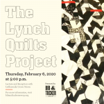 """The Lynch Quilts"" call-and-response libation and lecture by artist LaShawnda Crowe Storm"