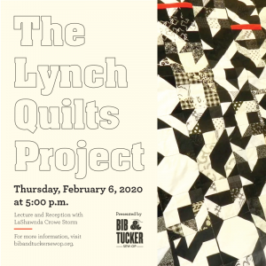 """""""The Lynch Quilts"""" call-and-response libation and lecture by artist LaShawnda Crowe Storm"""