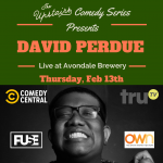 The Upstairs Comedy Series Presents: David Perdue