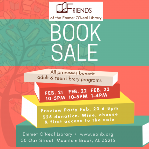 Friends of Emmet O'Neal Library Book Sale