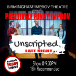 "Positively Funny Improv presents ""Unscripted Late Night!"""