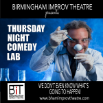 "The BIT presents ""Thursday Night Comedy Lab!"""