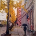 Impressionistic Fall Cityscape with Amy Peterson