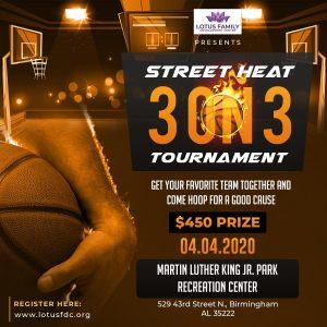 2020 Street Heat Charity Basketball Tournament