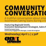 Community Conversations: A Truthful Convo About Small Businesses taking loans in crisis