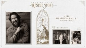 Zach Williams The Rescue Story Tour