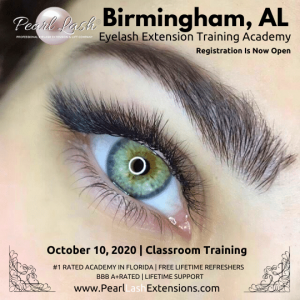 Eyelash Extension Training Event by Pearl Lash