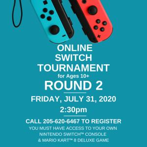 Online Nintendo Switch™ Tournament (ROUND 2)
