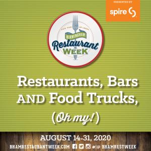 Birmingham Restaurant Week 2020