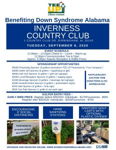 TEE UP for DOWN SYNDROME Golf Tournament