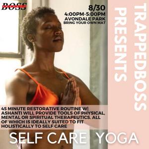 Self Care Yoga at Avondale Park