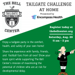 At Home Tailgate Challenge