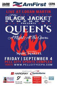 Live at Logan Martin: The Black Jacket Symphony presents Queen's 'A Night at the Opera'