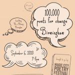 100 Thousand Poets for Change Birmingham