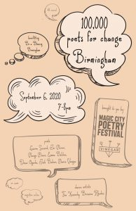 100 Thousand Poets for Change Birmingham