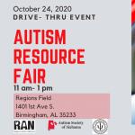 Drive-Thru Autism Resource Fair