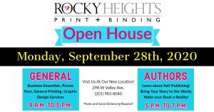 Rocky Heights Print & Binding Open House