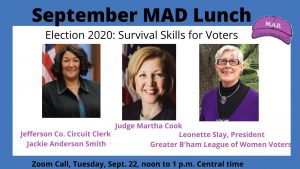 MAD Lunch: Survival Skills for Voting 2020