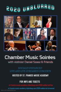 2020 UNBLURRED: Chamber Music Soirées with Violin...