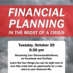 Financial Planning in the Midst of a Crisis