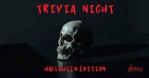 Trivia Night: Halloween Addition