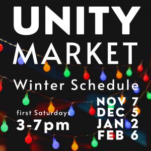 Unity Market Winter Schedule: