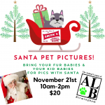 Smith's Variety Pet photos with Santa and The Animal League of Birmingham