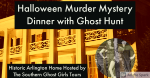 Halloween Murder Mystery Dinner and Paranormal Inv...