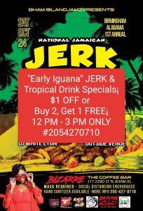 National Jamaican Jerk Day; Birmingham, AL