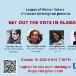 Get Out the Vote (GOTV) Efforts in Alabama