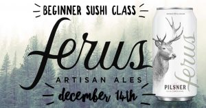 Trussville Beginner Sushi Class at Ferus