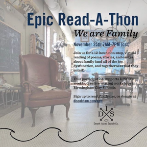 DESERT ISLAND SUPPLY CO.'S EPIC-READ-A-THON: WE AR...