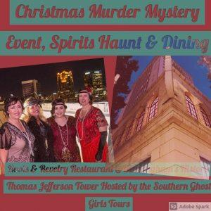 Christmas Roaring 20's Themed Murder Mystery Eve...