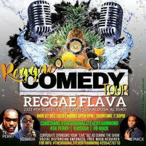 #ReggaeComedyTour @ReggaeFlava Restaurant