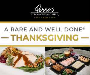 Thanksgiving at Perry's Steakhouse & Grille