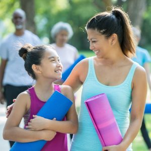 Family Yoga in the Gardens (for ages 4+)