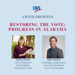 Restoring the Vote: Progress in Alabama