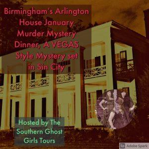 January Vegas Style Murder Mystery Dinner at Birmi...