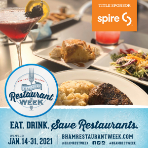Birmingham Restaurant Week 2021 - Winter Edition