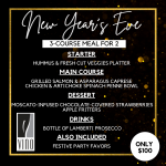 Celebrate New Year's Eve with Vino Dine-in or To-Go