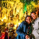 Christmas Caverns Laser Light Show