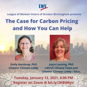 The Case for Carbon Pricing and How You can Help