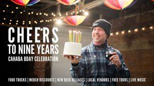 Cheers to Nine Years | Cahaba Birthday Party