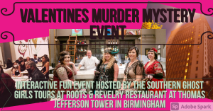Valentines Murder Mystery Event Roots and Revelry ...