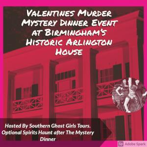 Valentines Weekend Murder Mystery Dinner at Birmin...